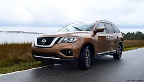 nissan pathfinder hybrid 2017 2017 nissan pathfinder platinum 4wd road test review new photos