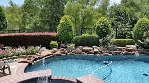 landscape design installation and maintenance water features