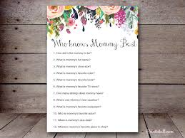 who knows best baby shower who knows best printabell create