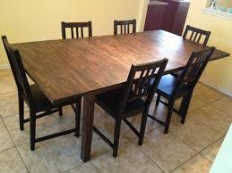 craigslist dining room sets inspiring dining room tables craigslist thou shall on table