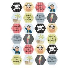 free pirate printables digital printable pirate cupcake toppers