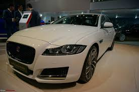 jaguar cars 2016 jaguar xf auto expo 2016 team bhp