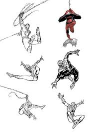 spiderman sketches 3 by ullcer on deviantart
