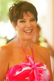 to style short hair like kris jenner