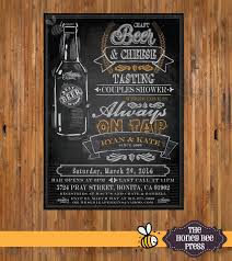 beer tasting party invitation beer couples shower invitation
