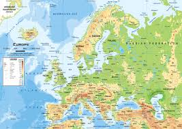 Map Of Europe With Rivers by Europe Map Interactive Map Of Europe Showing Countries Rivers And