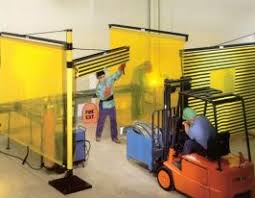 Retractable Welding Curtains Retractable Curtains Industrial Systems Solutions