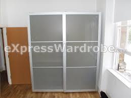 Sliding Doors For Closets Ikea Installing Ikea Pax Doors As Sliding Closet Hack Regarding Remodel
