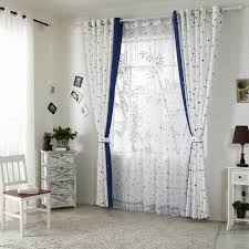 Patterned Sheer Curtains Fabulous White Yarn Patterned Sheer Curtains