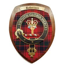 handmade clan family crest wall plaque scotland house ltd