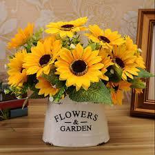 Artificial Sunflowers Artificial Sunflowers Silk Flowers Ebay