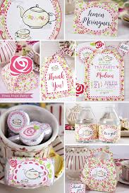 tea party favors tea party printables tea party decorations a baby is