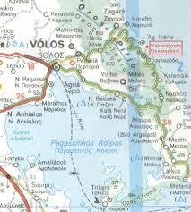 volos map how to get to damouchari pelion greece gopelion