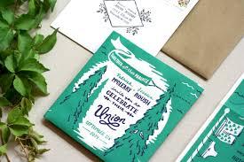 themed wedding invitations c theme foldout wedding invitations