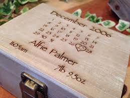 personalised keepsake box personalised wooden keepsake box boutique baby