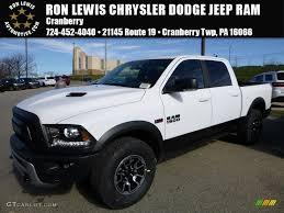 jeep white and black 2016 bright white ram 1500 rebel crew cab 4x4 108555955