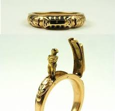 mourning ring napoleonic interest mechanical mourning ring c 1820s from
