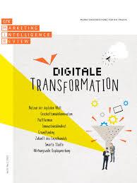 Reddy K Hen Digitale Transformation Vol 9 No 1 2017 By Gfk Mir Issuu