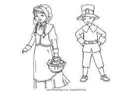 colonial boy coloring page pilgrim children colouring page holidays events thanksgiving