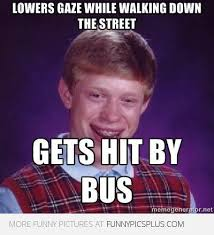 Bad Luck Meme - bad luck brian lowers his gaze funny pictures