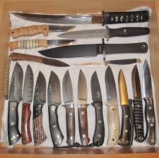 kitchen knife collection for your enjoyment knife collection bladeforums com