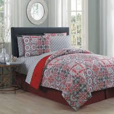 Red And Grey Comforter Buy Red King Bedding Sets From Bed Bath U0026 Beyond