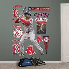 Boston Red Sox Home Decor by Amazon Com Mlb Boston Red Sox Xander Bogaerts Fathead Wall Decal