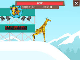 giraffe winter sport simulator android apps on google play