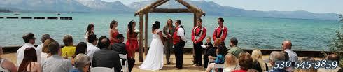 Lake Tahoe Wedding Venues Lakeside Beach Weddings Lake Tahoe Wedding Venue