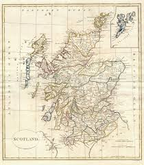 Map Scotland File 1799 Clement Cruttwell Map Of Scotland Geographicus