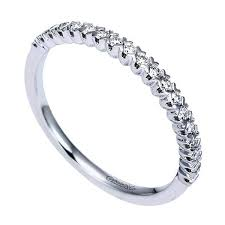 gabriel and co wedding bands scalloped shared prong diamond wedding band freedman jewelers