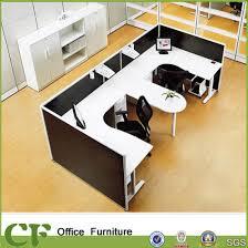 u shaped workstation desks china u shaped desk workstation with credenza for small spaces