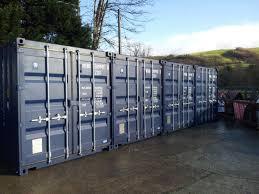 Rent Storage Container Mid Wales Container Storage Minerva Self Storage Powys Minerva