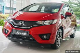 gallery honda jazz in carnival red u2013 live photos