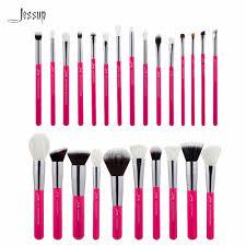 professional makeup tools jessup carmin silver professional makeup brushes set make up