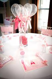 baby shower table ideas balloon decoration ideas for a baby shower table decor delightful