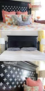 Old Bedroom Set Makeover Best 25 Headboard Makeover Ideas On Pinterest Burlap Bedroom