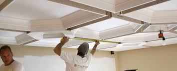 What Is A Coffered Ceiling by Coffered Ceiling Diy How To Easily Install A Coffered Ceiling