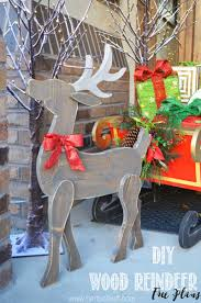 Woodworking Projects Free Plans Pdf by Free Reindeer Plans Woodworking Plans And Information At