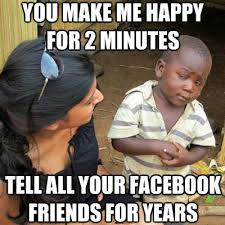 Make A Facebook Meme - the picture that launched a thousand memes on poverty stereotypes