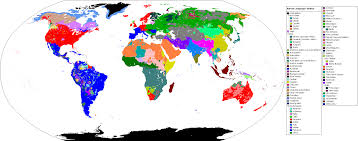 map of the world u0027s language families 1880x740 mapporn