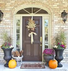 fall decorations for outside front door fall decorating ideas fall decorating ideas