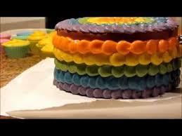copy of making u0026 cutting rainbow cake soap no music petals