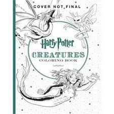 harry potter official coloring book 2 creatures