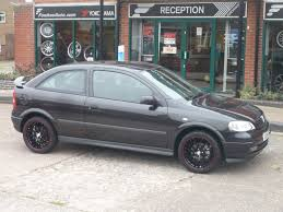 vauxhall vectra black fowkes auto