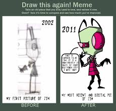 Invader Zim Memes - do zim again zim commands you meme by insanelyadd on deviantart