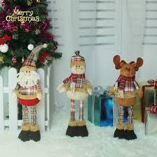 decoration dolls 3pcs santa claus snowman elk baby gift