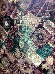 Indian Area Rug Shaw Area Rug My300 08119 Geometrics Pattern Velvet Wool Carpet
