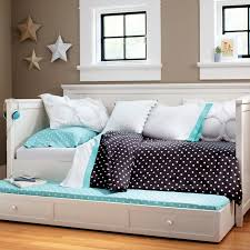 Trundle Bed For Girls Beadboard Daybed Set Pbteen