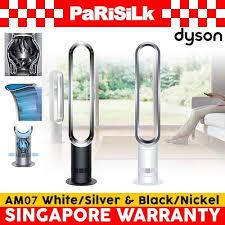 dyson fan am07 sale qoo10 dyson am07 tower fan white silver black nickel